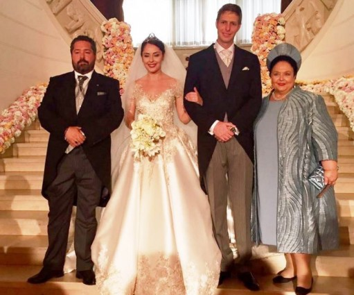 Глава Дома Романовых и Цесаревич присутствовали на свадьбе Главы Албанского Королевского Дома в Тиране