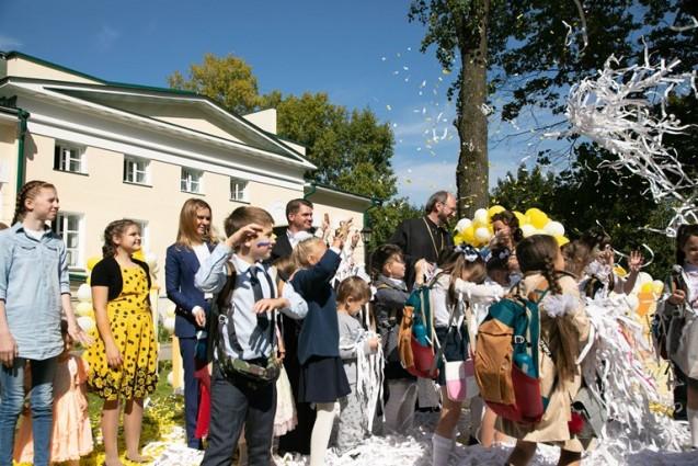 В усадьбе Пржевальского, что в Московской области открыт детский хоспис