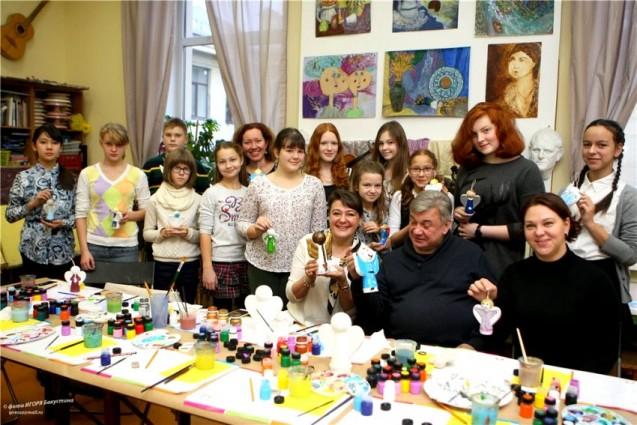 Петербургский Детский хоспис получил новогодние подарки