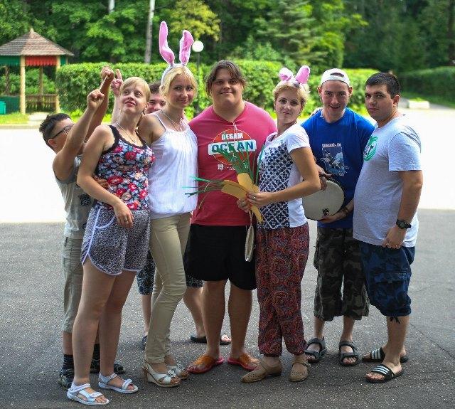Ребята с инвалидностью и без вместе побывали в летнем лагере