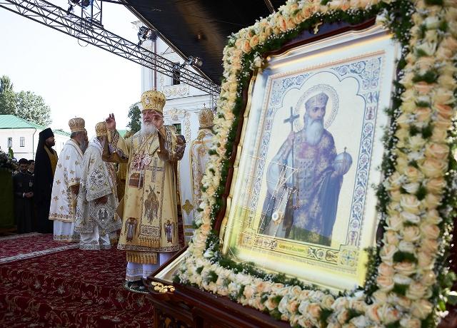 Божественная литургия в Киеве