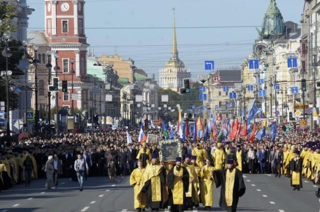 В Санкт-Петербурге пройдет крестный ход в честь князя Александра Невского