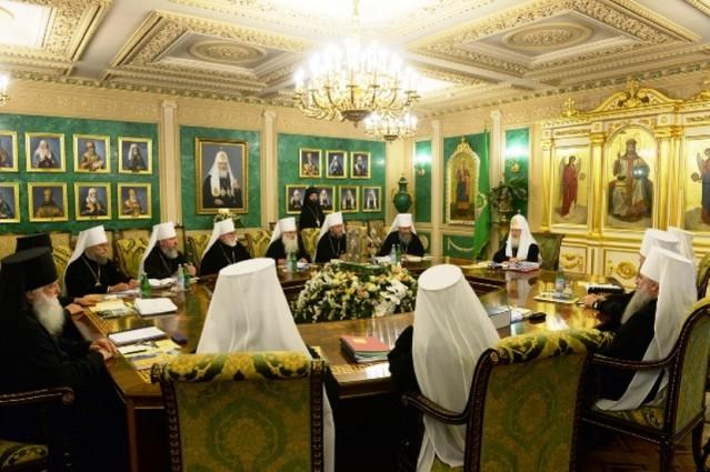 Заявление Священного Синода Русской Православной Церкови