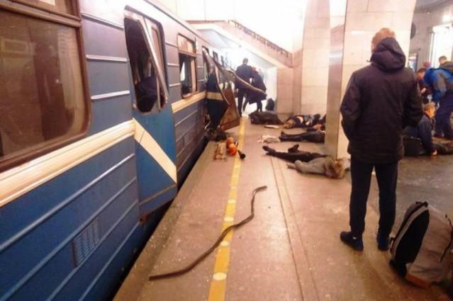 В связи с трагедией в Санкт-Петербурге