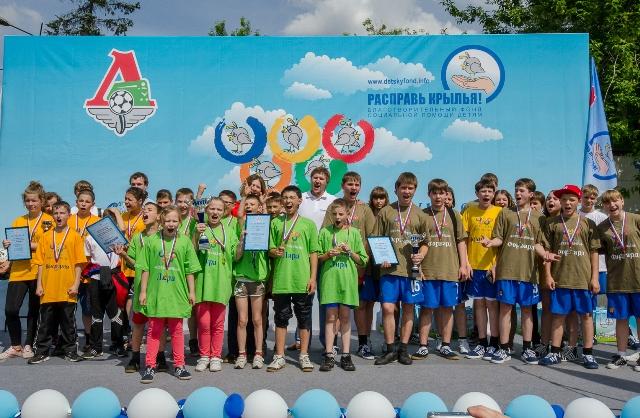 Детская Спартакиада на «Локомотиве»