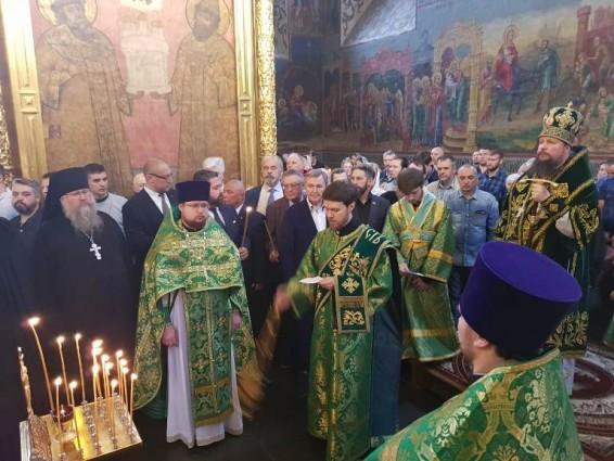 Вчера 7 июля  состоялись заупокойные Богослужения по Святейшему Патриарху Филарету (Романову)