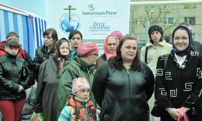 Христиане пришли на помощь беженцам