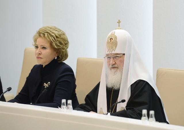 Патриарх в Совете Федерации