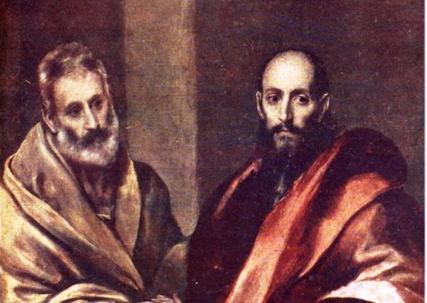 Сегодня  День памяти святых апостолов Петра и Павла