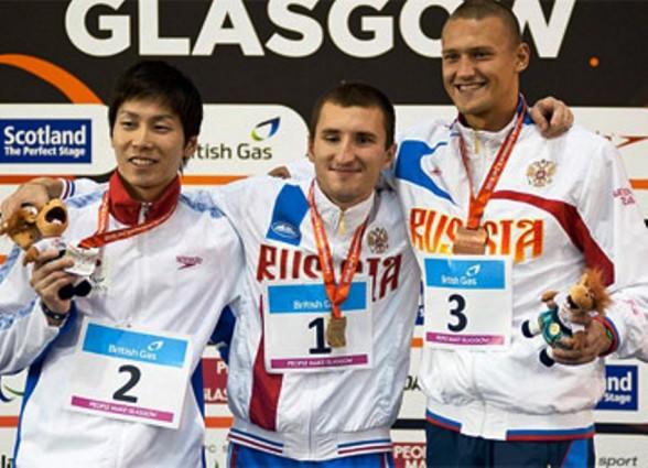 Россияне собирают медали