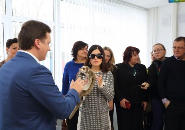 Открылся Ресурсный центр для слепоглухих