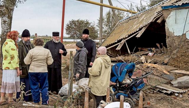 епархия оказывает помощь пострадавшим от подтопления