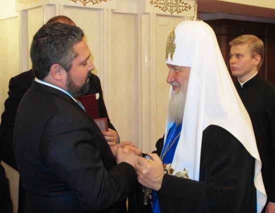 Цесаревич Георгий Михайлович поздравил Святейшего Патриарха Московского и всея Руси с 70-летием