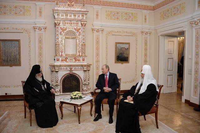 Президент России встретился с Каталикос-Патриархом Грузии