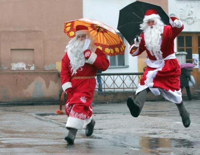 Благотворительный флешмоб Дедов Морозов