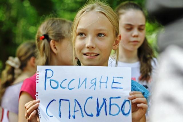 Сотни беженцев нашли приют в церковных учреждениях по всей России