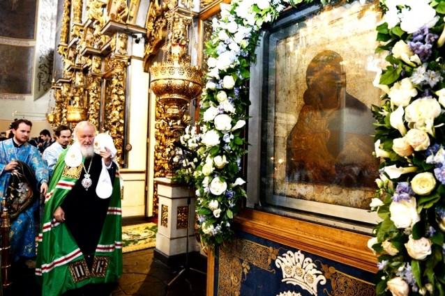 В Донском чествовали Пресвятую Богородицу
