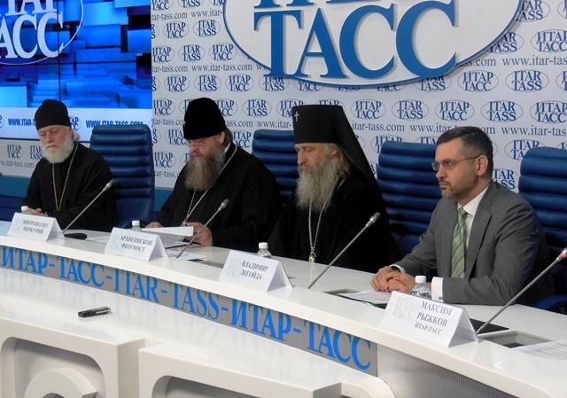 Монах русской церкви