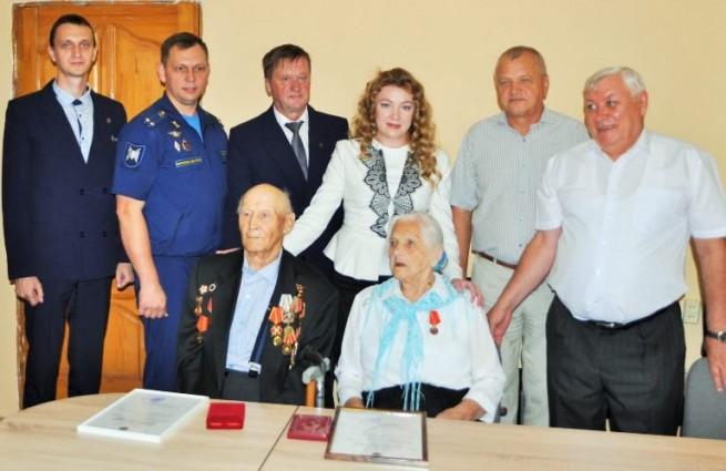 В Анапе  ветеранам войны вручили награды Российского императорского дома