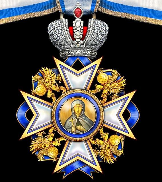 В Марфо-Мариинской обители состоялась церемония награждения Императорским Орденом Святой Великомученицы Анастасии Узорешительницы