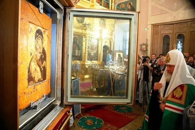 Со  сретением Владимирской иконы Пресвятой Богородицы