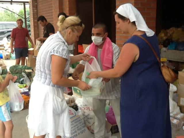 В церковном штабе заработал круглосуточный пункт медицинской помощи