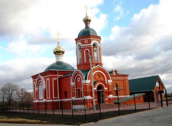 В селе Кузовлево возродили  храм Георгия Победоносца