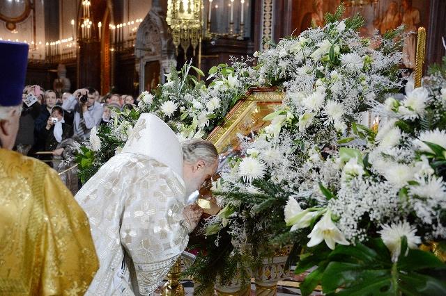 Праздник Рождества в Храме Христа Спасителя