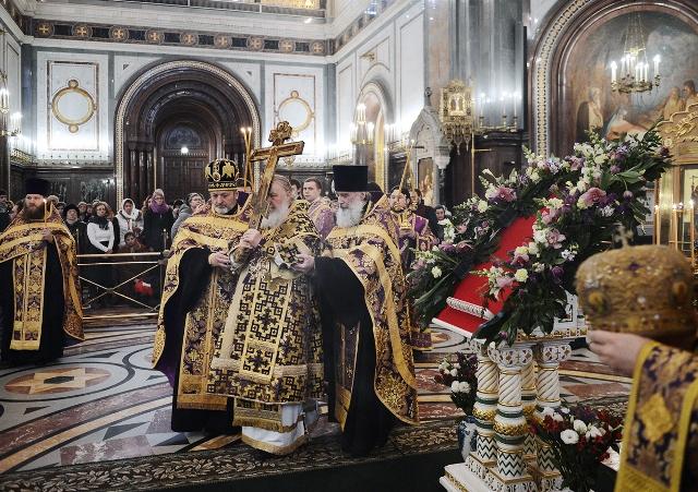 Сегодня праздник Крестопоклонения