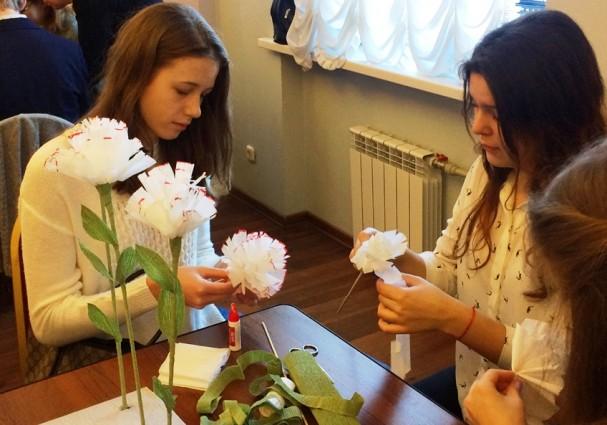 В Петербурге дан старт акции «Белый цветок»