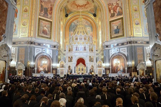 Подведены итоги Патриаршего служения в 2012 году