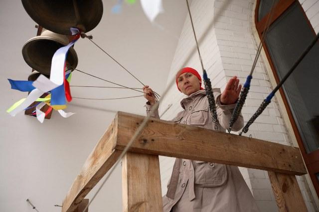 Колокольный концерт в Новоспасском монастыре