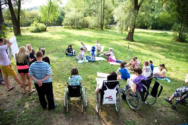«Театральная перспектива» в летнем лагере для подростков с инвалидностью