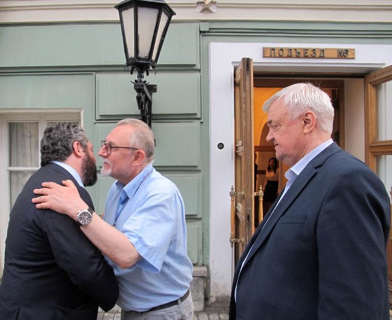 Цесаревич   принял участие в Пасхальном приёме Московского регионального отделения ИППО