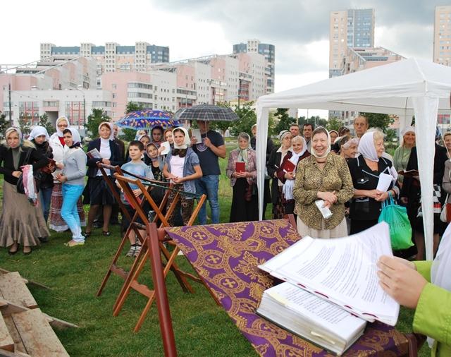 на Ходынском поле состоялись тожества в честь преподобного Сергия Радонежеского