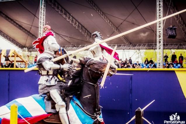 Доблестные битвы рыцарей в Коломенском