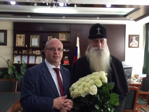Предстоятель Русской Православной старообрядческой церкви был приглашен в Государственную Думу