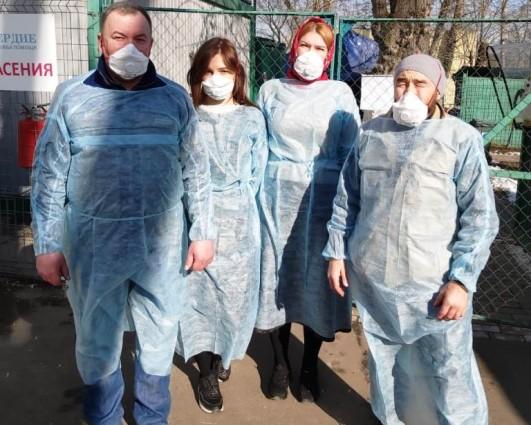 Русская Церковь задействовала более 100 добровольческих служб и почти 7 тысяч волонтеров