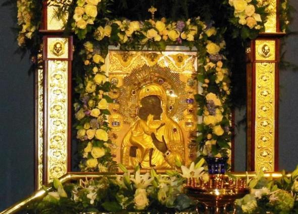 27 марта - день празднования Феодоровской иконы Божией Матери