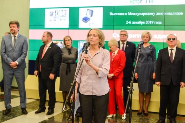 В Государственной Думе экспонируется выставка о людях с интеллектуальными нарушениями