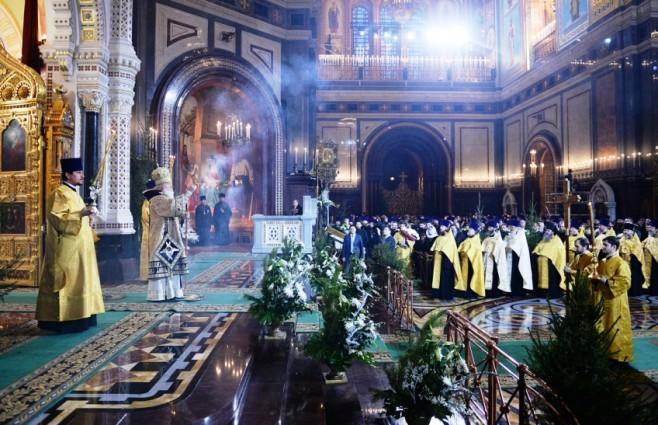 Рождественское поздравление Патриарха