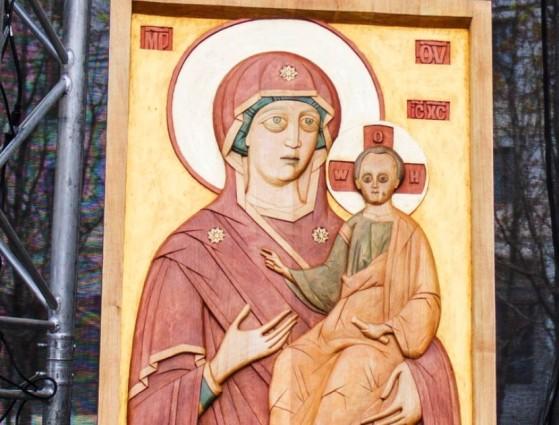 Впервые тактильная икона появится в Храме Христа Спасителя