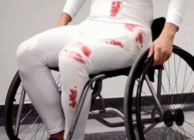 Специальные штаны для паралимпийцев