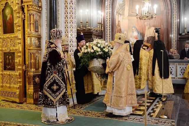 Сегодня четвертая годовщина интронизации Святейшего Патриарха Московского и всея Руси Кирилла