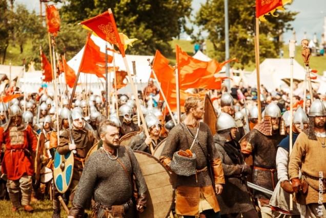 В Коломенском сражались за Святую Русь