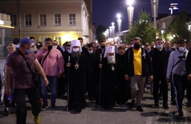 Императорский дом Романовых поддержал  несогласованный  крестный  ход в Екатеринбурге