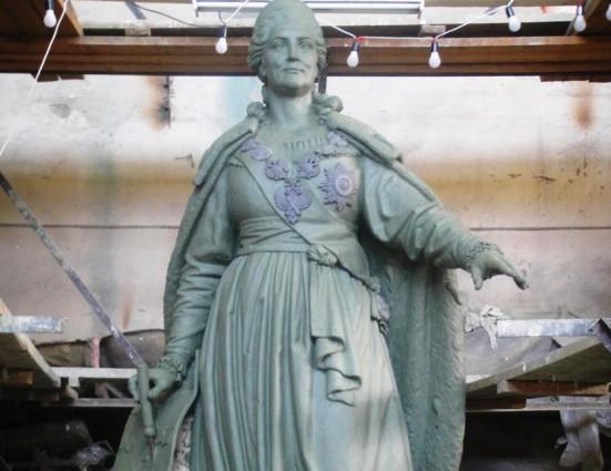 Памятник Екатерине II восстановят в  Симферополе
