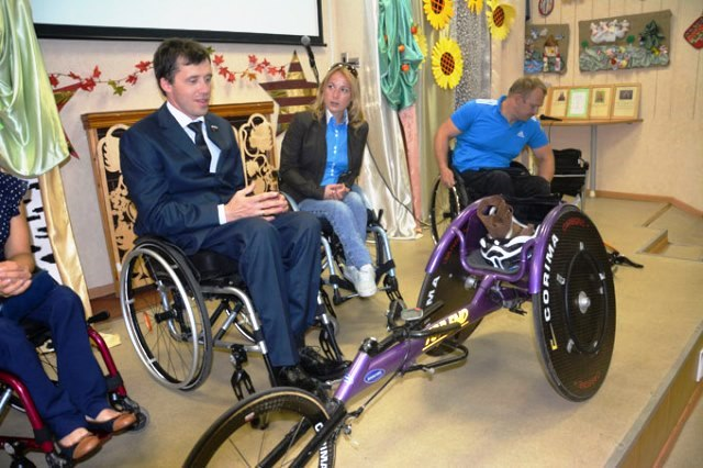 Чемпионы паралимпийцы побывали в «Кентавре»