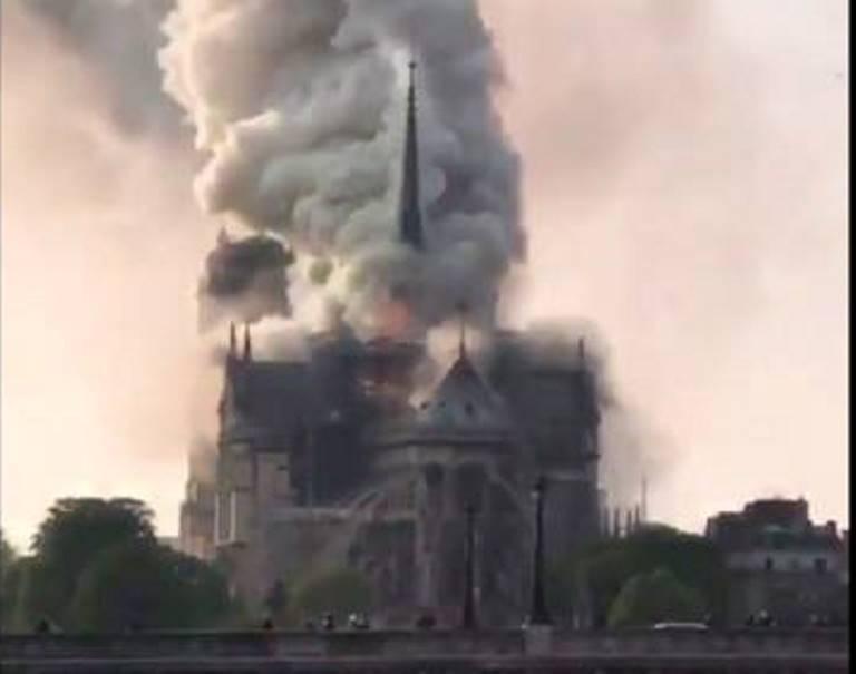 Соболезнование в связи с пожаром в Париже