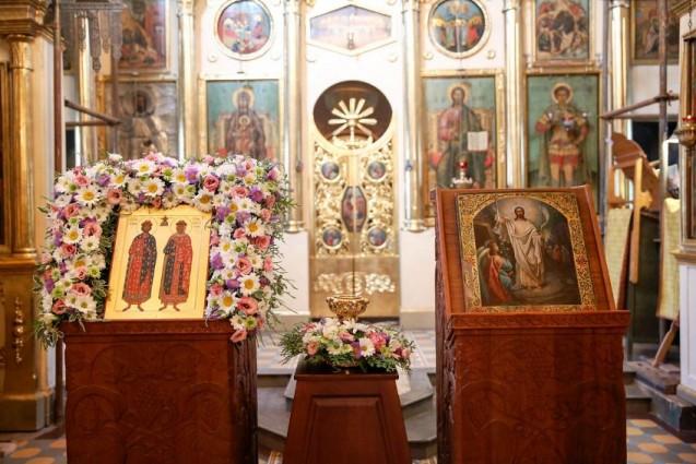 В храм села Дмитровское будет принесен ковчег с частицами мощей святых благоверных Петра и Февронии Муромских